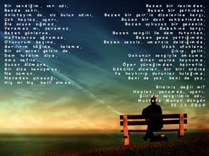 Sevgilim şiir
