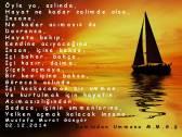 yelken açmak, içinin ummanlarına