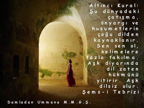 Şems-i Tebriz 6. kural