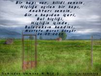 Hiçliğe açılan kapı
