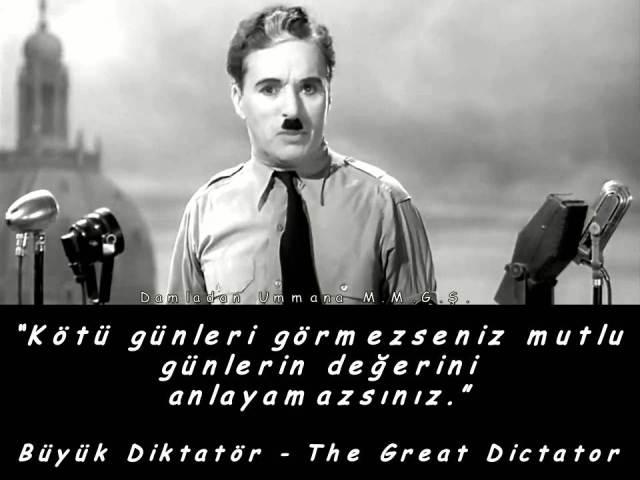 büyük diktatör kötü günler