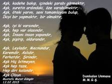 Aşk Bir Olmaktır